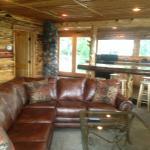 Livingroom in Cabin 89
