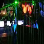 Amazing beams of lights