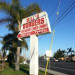 Bill Burgers Sign
