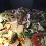Gluten free veggie pizza