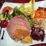 Ballotine de canard au foie gras