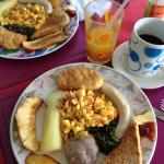 Jamaican breakfast, it was everything!