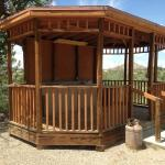 Outdoor Rustic Camping Kitchen Gazebo
