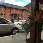 The Bisbee Historical Museum, from our table for Lunch at Bisbee's Table