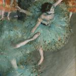 """Swaying Dancer"" by Edgar Degas"