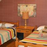Hudson Bay room twin beds.