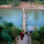Bamboo bridge to adventure!