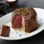 Sizzling steak