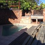 Braai area and pool for chilling