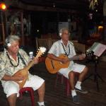 The two gentlemen that performed for our entertainment.