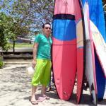 Papan Surfing di Pantai Kuta