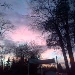 Coucher de soleil sur la Loire…Féerique !