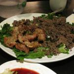 Chicken and Beef Bulgogi from the Kitchen