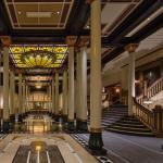 Lobby of the historic hotel and legendary Texas landmark, The Driskill.