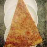 """Try a slice from our JUMBO 28"""" pizza !!"""
