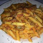Penne Vodka with Sausage