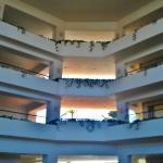 entrée hôtel villas