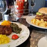 Steak and Burger