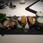 Great oysters. Pity they weren't bluffies though