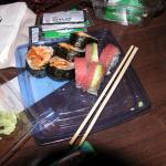 Safeway sushi, not bad