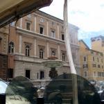 La Piazza Nicosia desde la terraza del restaurante.