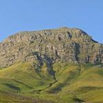 The majestic Helderberg Mountain