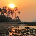 Sunset just North of Baan Mai