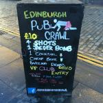 ‪Edinburgh Pub Crawl‬