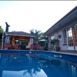 Swimming Pool/Garden area