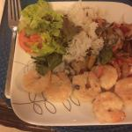 My birthday dinner from Sand Dollar