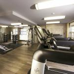 Newly expanded fitness room with state of the art equipment