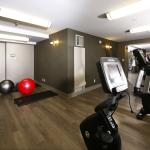 Fitness Room located on the second floor