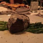 Filet with Gorgonzola & Asparagus