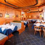 blaues Restaurant