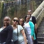 At the Queen's Staircase