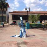 Art is what you find in this plaza where Fidel spoke for the first time in 1959