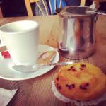 Thé promenade des anglais et muffins myrtille !