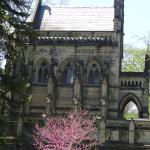 One of the mausoleums