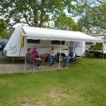 Powered Caravan Site With Concrete Slab