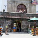 """""""Fabiolita"""" is located under the Catedral's atrium"""