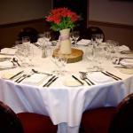 Example Of Wedding Setup Table