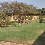 Les jardins de l'hôtel Mont Korhogo