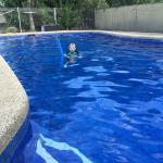 The best pool ever - perfect temp