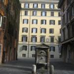 Вид из окна в римский двор