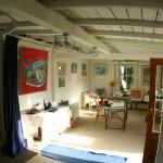 The art studio,art classes & materials available