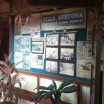 The entrance of Villa Sentosa