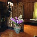 Тайский домик внутри