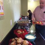 Fireside Room Buffet Bar