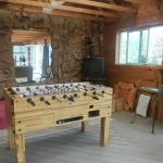 Game room with Foos Ball Table