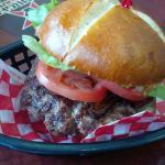Fresh juicy Burger